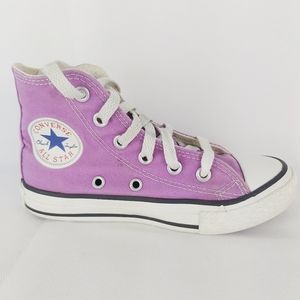 CONVERSE ALL STARS girl's high top shoes